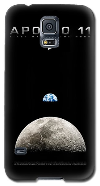 Apollo 11 First Man On The Moon Galaxy S5 Case