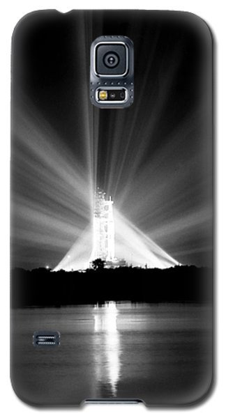 Galaxy S5 Case featuring the photograph Apollo 11 In The Spotlight by Travis Burgess