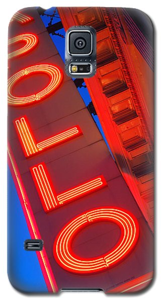 Galaxy S5 Case featuring the photograph Apollo Nights by James Kirkikis