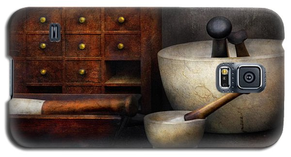 Apothecary - Pestle And Drawers Galaxy S5 Case by Mike Savad