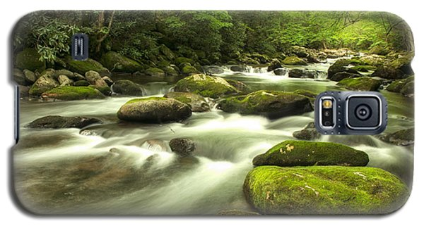 Galaxy S5 Case featuring the photograph Appalachian Spring Stream by Phyllis Peterson