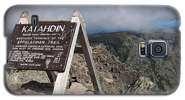 Appalachian Trail Mount Katahdin Galaxy S5 Case