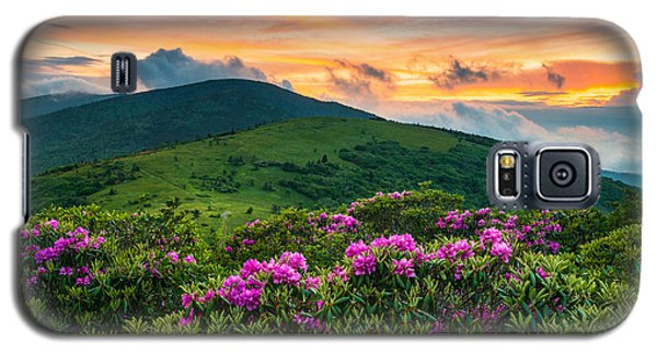 North Carolina Appalachian Trail Roan Mountain Highlands Galaxy S5 Case