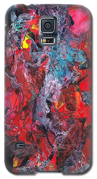 Galaxy S5 Case featuring the painting Apparition by Buck Buchheister