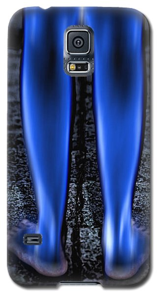Galaxy S5 Case featuring the photograph Blue Legs by Kellice Swaggerty