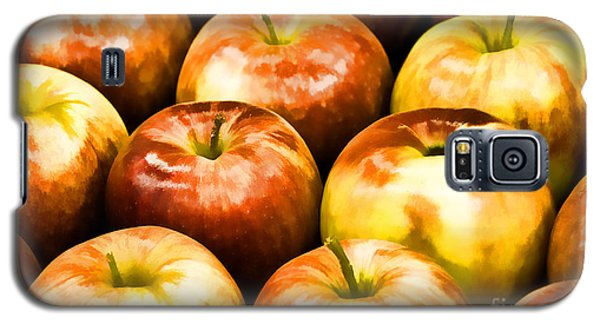 Apple A Day Galaxy S5 Case by Linda Blair