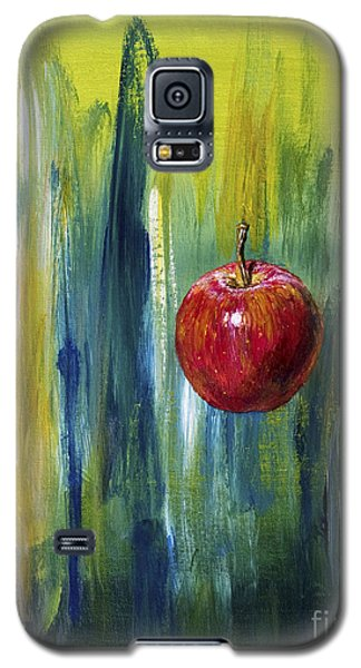 Galaxy S5 Case featuring the painting Apple by Arturas Slapsys