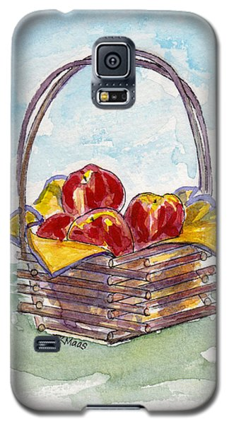 Apple Basket Galaxy S5 Case by Julie Maas