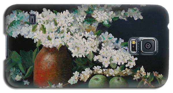 Apple Blossom Time Galaxy S5 Case