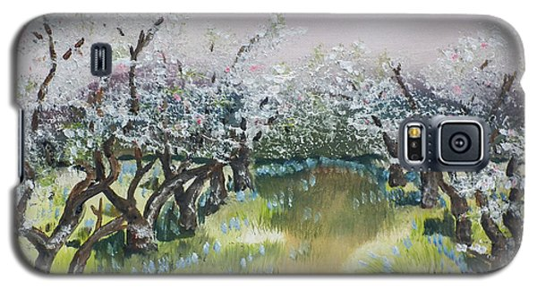 Apple Blossoms In Ellijay -apple Trees - Blooming Galaxy S5 Case