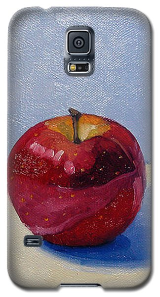 Apple - White And Blue. Galaxy S5 Case