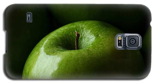 Galaxy S5 Case featuring the photograph Apples Green by Lorenzo Cassina