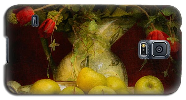 Apples Pears And Tulips Galaxy S5 Case