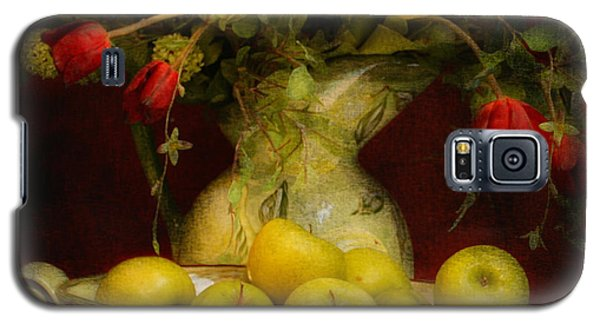 Apples Pears And Tulips Galaxy S5 Case by Jeff Burgess