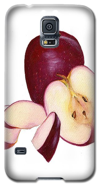 Galaxy S5 Case featuring the painting Apples To Apples by Nan Wright
