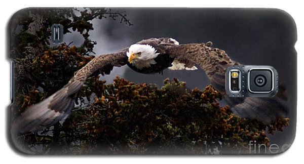 Approaching Eagle-signed- Galaxy S5 Case