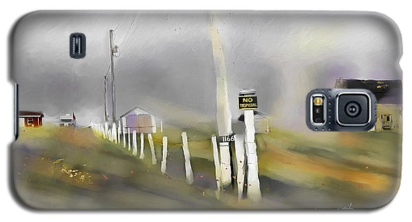Galaxy S5 Case featuring the painting Approaching Storm Northwest Cape P.e.i by Bob Salo