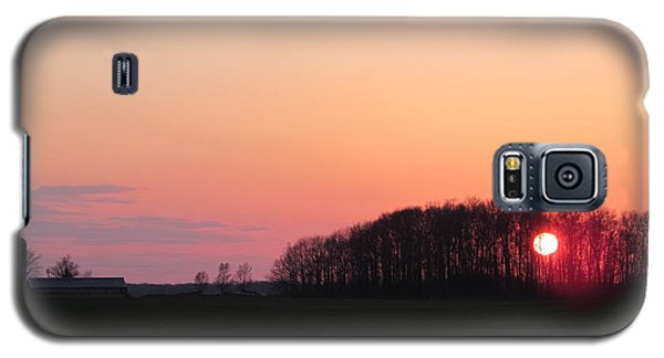 April 24 2013 Sunset Galaxy S5 Case by Tina M Wenger