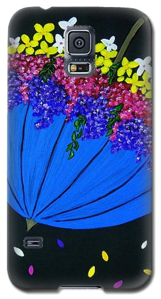 April Showers... Galaxy S5 Case by Celeste Manning
