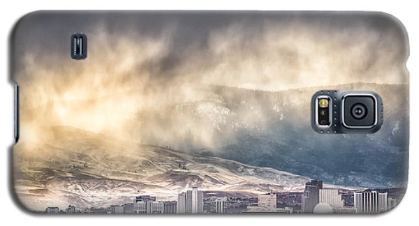 April Showers Over Reno Galaxy S5 Case