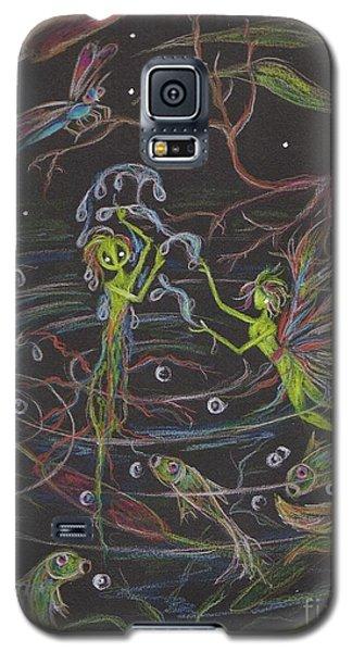 Aqua Galaxy S5 Case by Dawn Fairies