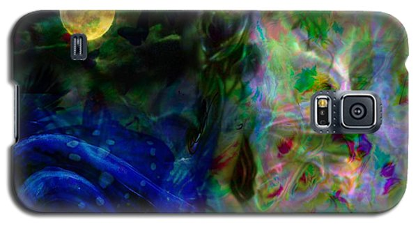 Galaxy S5 Case featuring the digital art Aqua Lover by Diana Riukas