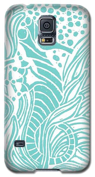 Aqua Seahorse Galaxy S5 Case