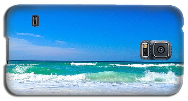 Aqua Surf Galaxy S5 Case by Margie Amberge