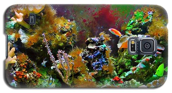 Aquarium Galaxy S5 Case by Kara  Stewart