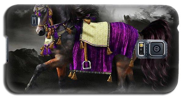 Arabian Horse  Shaitan Galaxy S5 Case by Shanina Conway
