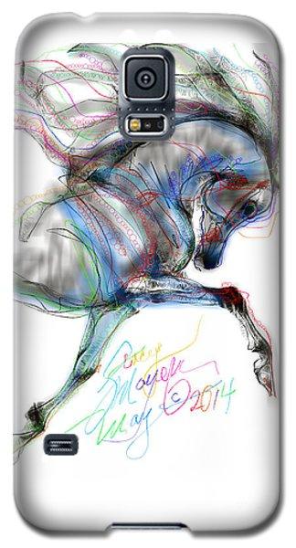 Arabian Horse Trotting In Air Galaxy S5 Case