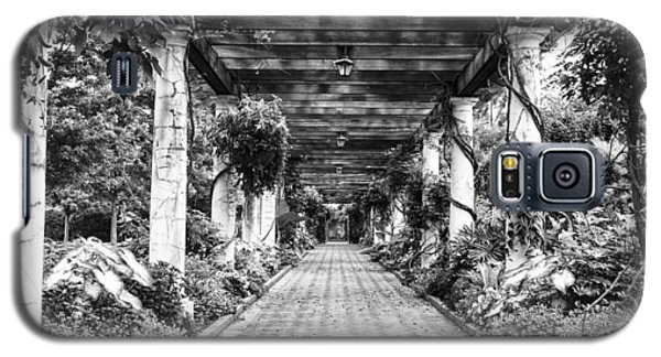 Galaxy S5 Case featuring the photograph Arbor Walkway by Phyllis Peterson