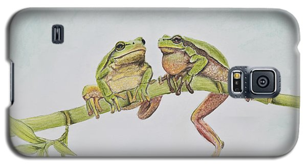 Arboreal Frogs In Pastel Galaxy S5 Case