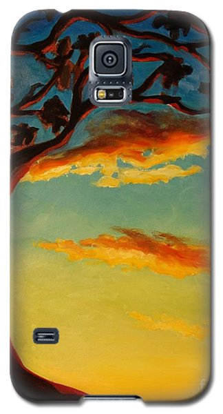 Arbutus Sunrise Galaxy S5 Case by Janet McDonald