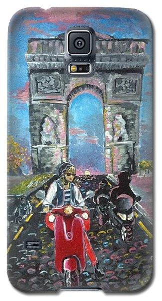 Arc De Triomphe Galaxy S5 Case by Alana Meyers