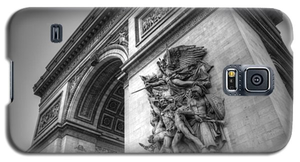 Arc De Triomphe In Black And White Galaxy S5 Case