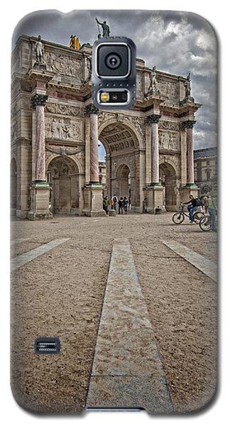 Arc De Triomphe Louvre  Galaxy S5 Case