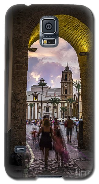 Arc Of The Rose Cadiz Spain Galaxy S5 Case