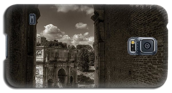 Arch Of Constantine From The Colosseum Galaxy S5 Case