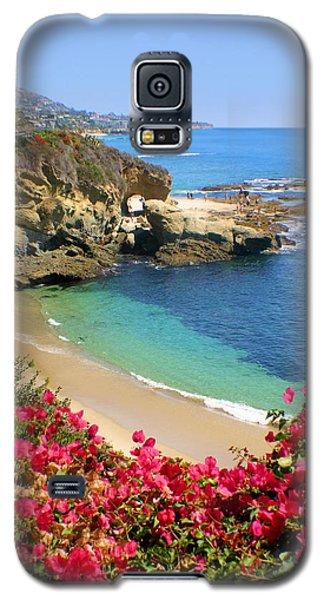 Arch Rock And Beach Laguna Galaxy S5 Case