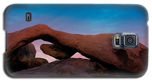 Arch Rock Evening Galaxy S5 Case by Stephen Stookey