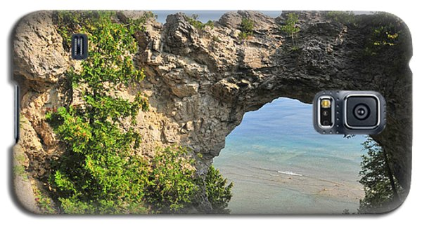Arch Rock In Mackinac Island State Park Galaxy S5 Case