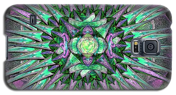 Archangels Gather Mandala Galaxy S5 Case