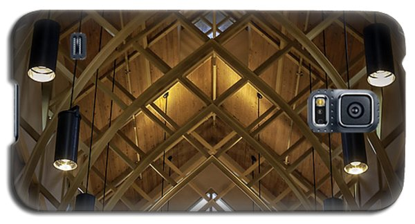 Arched Trusses - University Of Florida Chapel On Lake Alice Galaxy S5 Case