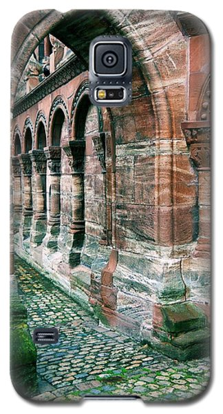 Arches And Cobblestone Galaxy S5 Case by Maria Huntley