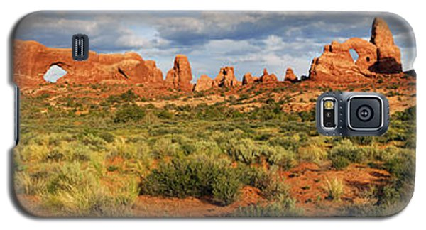 Arches National Park Panorama Galaxy S5 Case