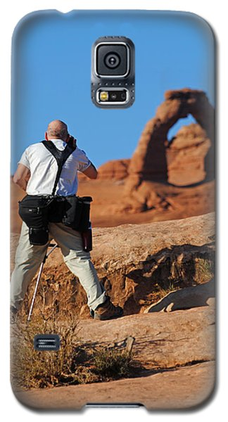 Galaxy S5 Case featuring the photograph Arches Np 27 by Jeff Brunton
