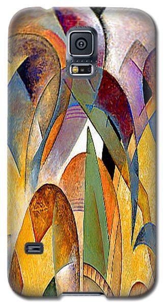 Galaxy S5 Case featuring the mixed media Arches by Rafael Salazar
