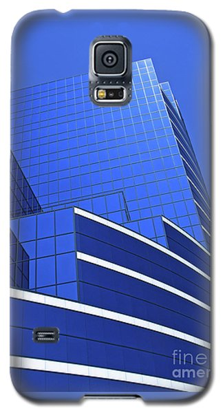 Architectural Blues Galaxy S5 Case by Ann Horn
