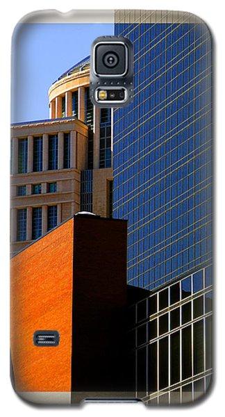 Architectural Stone Steel Glass Galaxy S5 Case